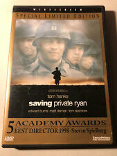 Saving Private Ryan (1998) Dvd Special Limited Edition Tom Hanks