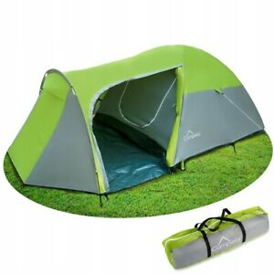 Tourist Tent, Family Tent, Tropical, for 3 persons waterproof 3000m glued seams