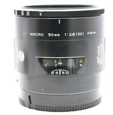 Minolta AF Macro 50mm f/2.8 Lens Excellent- No. 17201544