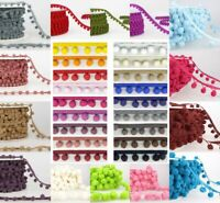 La Stephanoise Pom Pom Trim 6mm 10mm 15mm 50mm Top Quality Craft Fringing