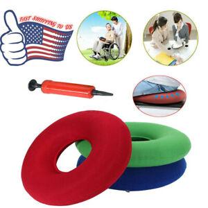 Donut Pillow Hemorrhoid Pain Treatment Pregnancy Prostate Seat Cushion 4 Colors