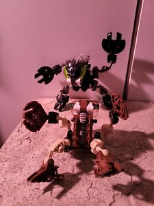 LEGO Bionicle Bohrok 8560 Pahrak Building Figure Toy lot. 2