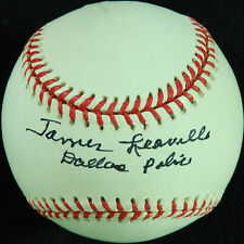 "James Leavelle Single-Signed OAL Baseball ""Dallas Police"" (PSA/DNA)"