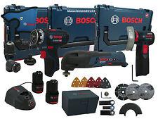 Bosch Akku Bohrschrauber GSR 12V-15 FC FlexiClick Professional + Akku Multi