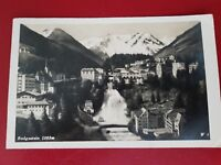 Badgastein am Wasserfall - Vintage Real Photo Postcard