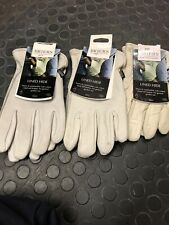 briers leather gardening gloves Hide Lined X 3  Women's And Mens