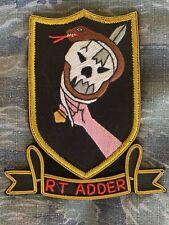Vietnam War original Theater Special Forces MACV SOG Recon Team Adder Patch