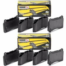 HAWK 2003-2009 HUMMER H2 PERFORMANCE CERAMIC STREET FRONT AND REAR BRAKE PADS