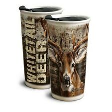 American Expedition Whitetail Deer 12oz. Ceramic Travel Mug