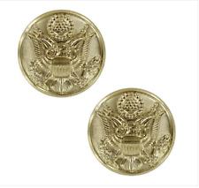 Genuine U.S. Army Button Officer Screw Cap 22K