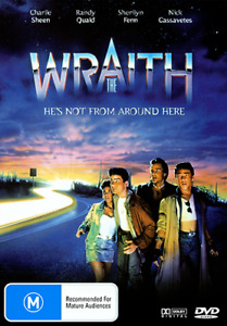 Charlie Sheen Randy Quaid Sherilyn Fenn THE WRAITH DVD