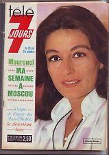 magazine télé 7 jours - 23 octobre 1976 - numero 856 - couverture anouk aimée
