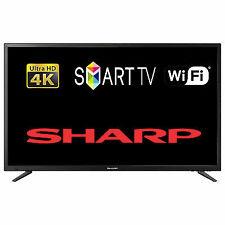 """Sharp 49"""" LC-49CUG8052K 4K UHD 2160p Smart LED TV - Black"""