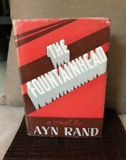 The Fountainhead by Ayn Rand - 1st Edition, early printing