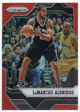 2016-17 Panini Prizm Basketball Orange Prizm /49 #235 LaMarcus Aldridge Spurs
