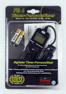 BILORA FB-4 C3 Timer-Fernauslöser für Canon
