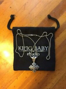 King Baby Cross Necklace