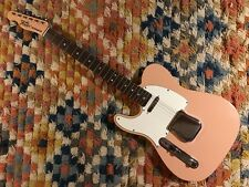 2007 Left Handed Fender Custom Shop 1967 Telecaster in Shell Pink
