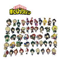 Anime Boku no Hero Academia Rubber Keychain Key Ring Straps Rare cosplay