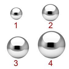 Stainless Steel Sphere Garden Ornament Mirror Gazing Globe Ball Outdoor Decor Us