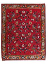 2x2 Oriental Vintage Wool Handmade Traditional Floral Area Rug