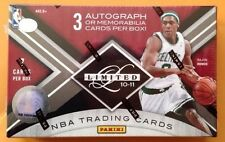 2010-11 Panini Leaf Limited Box 3 Auto/Memorabilia (Kobe Bryant Stephen Curry)?