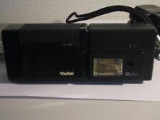 Rollei A 26 mit Blitz C 26, Ladegerät und Bedienungsanleitung