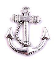 Ancla Con Cuerda Seemanntau Amuleto Colgante de Cadena Suministros de Artesanía