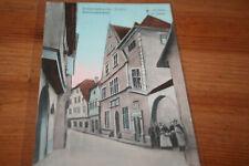 CPA Ammerschweier Ammerschwihr Elsass occupation allemande 1915 Rathaus Mairie