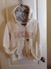 Abercrombie & Fitch Sweat SHIRT  DISTRESSED Fleece Hoodie SWEATER  PULLOVER   M