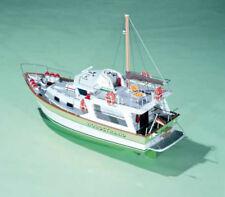 """Elegant, Detailed Model Ship Kit by Krick: the """"Nordstrand"""" Trawler Yacht"""