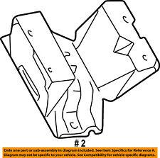 FORD OEM 03-05 Excursion-Engine Motor Mount Torque Strut 4C3Z6038B