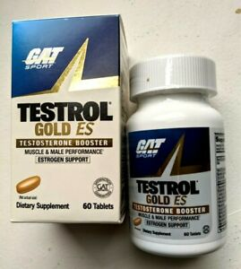 GAT Testrol Testosterone Booster Tablets - 60 Count. Exp. 01/2023. Free Shipping