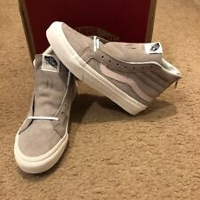 NEW Croc Embossed Sk8Hi Slim Zip Vans Hemp/Blanc de Blanc