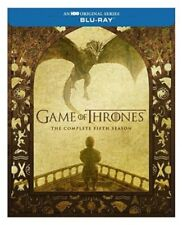 Game of Thrones: Season 5 [Blu-ray ] Fifth 2016 Brand New Sealed