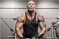 The Rock Dwayne Johnson Muscle Bodybuilding Large Maxi Poster Art Print 91x61 cm