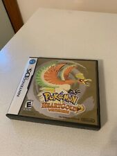 Pokemon HeartGold Version Nintendo DS 2010 Case+Manual Not For Resale NO GAME