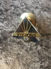 Vintage Regions Bank 10k Yellow Gold Diamond ? Tie Clasp Pin