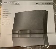 BOSE SoundDock Portable digital music system With Remote And Bag