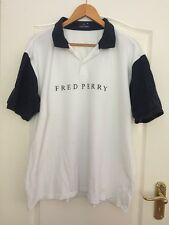 Para Hombres Camisa Polo Auténtico Fred Perry-tamaño XXL