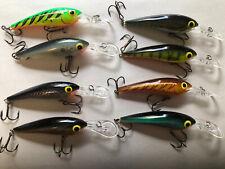 Nice group of 8 Storm Thundercrank Crankbait Fishing Lures
