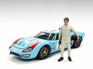 """""""RACE DAY 2"""" FIGURINE I FOR 1/18 SCALE MODELS BY AMERICAN DIORAMA 76295"""