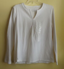 CHARTER CLUB Ladies White Top / Size Large / NWT