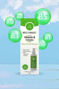 Best Choice Vitamin B Complex Oral Spray 25ml