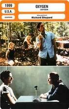 FICHE CINEMA : OXYGEN - Tierney,Brody,Naughton,Shepard 1999