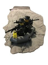 lego navy seals With Boat And Weapons Custom With Motor