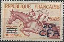 Timbre Chevaux Réunion 318 ** lot 27628 - cote : 93 €