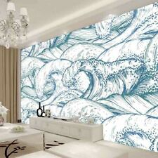 Big White Spray Full Wall Mural Photo Wallpaper Printing 3D Decor Kid Home