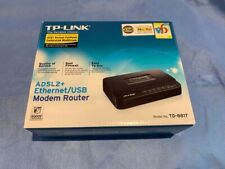 TP-LINK TD-8817ADSL2+ Modem Router without WiFi