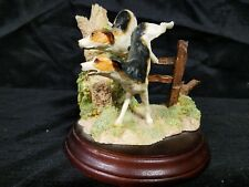 Vintage Duncan Royale Fine Porcelain Hunting Dogs Figurine Sculpture